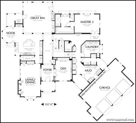 House Plans Two Master Suites Top 3 Multigenerational House Plans Build A