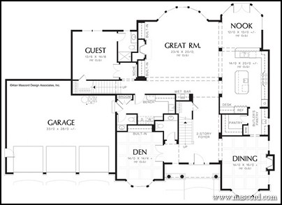 Ranch Homes House Plans likewise 1 Story Vintage House Floor Plans in addition 1 Story Floor Plans With Large Kitchens also Ranch House Plans With Porch Addition besides Cape Cottage Pool House Designs. on rustic country house plans