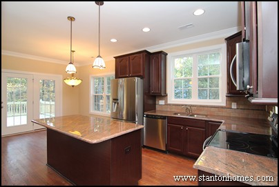 how to choose a kitchen countertop | custom home builder tips