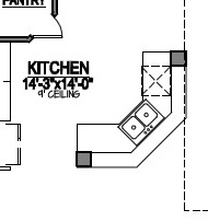 How To Read A Kitchen Floor Plan Kitchen Floor Plan Design