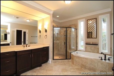 Custom home building and design blog home building tips for Master bath ideas 2016