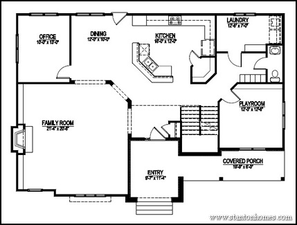 Master Bathroom Floor Plans additionally Floorplan furthermore 24x32 House Plans With Loft likewise 4 Bedroom Floor Plans moreover One Story Open Floor Plans One Story 3 Bedroom 2 Bath 973364cc6f5fd597. on master bedroom house plans 2