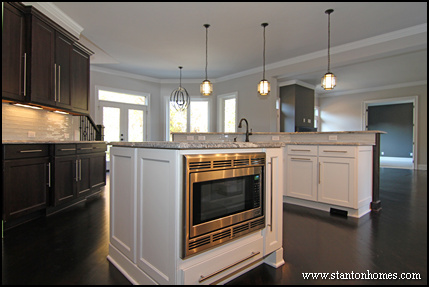 Where to put the microwave in your kitchen design for Kitchen designs microwave