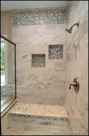 tile shower bench ideas 2