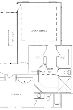 his and hers master bathroom floor plans. his. home plan and house
