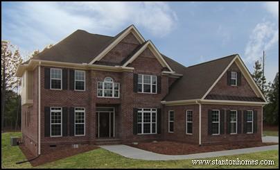 brick homes in raleigh favorite brick home designs - New Brick Home Designs