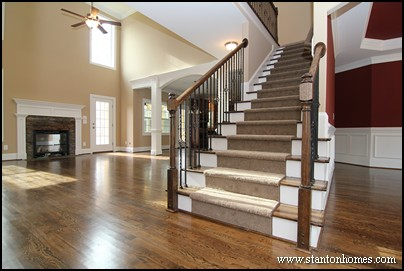 Custom home building and design blog home building tips for Modern stairs tiles design building work latest technology