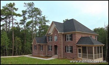 Choosing a home plan that fits your lot on your lot home for Choosing a home builder