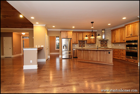 Open Concept Kitchen Floor Plans On 2 Story House Floor Plans Open Concept