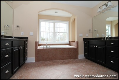 Best master bath layouts | Dual vanity design