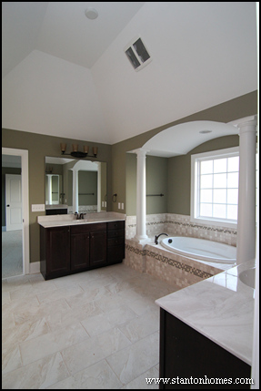 Master bath lighting trends