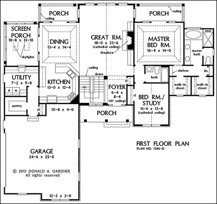 One Story Floor Plans With Basements as well Laundry Room Dimensions also A Study Nursery Near Master Suite 5430lk as well Roof Shapes as well Massive Master Suite. on bedroom with corner fireplace