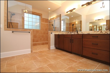 Custom home building and design blog home building tips for Master bathrooms without bathtubs