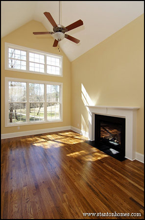 Ceiling Ideas and Styles | NC custom home builders