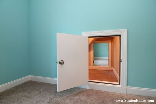 How to build a secret passage for Houses with secret rooms and passageways