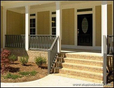 types of porch railing new home exterior ideas