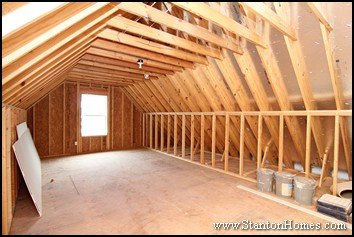 How much does it cost to finish a third floor or attic for Loft addition cost