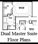 Homes With Two Master Bedrooms Raleigh Dual Master
