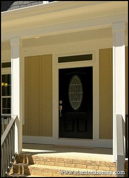 Glass Front Door Styles North Carolina New Home Front