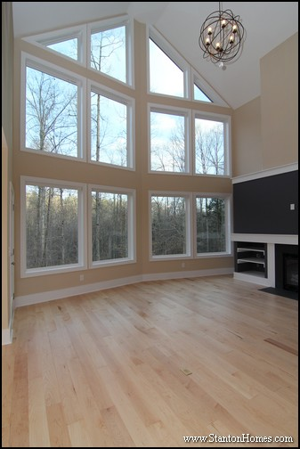 Window design ideas for custom homes north carolina Custom design windows