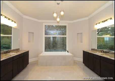 Master Bathroom Vanity Lighting Ideas : Raleigh NC New Homes: Communities, Lots and Land in the Triangle: 8 Top Ways to Light Up the ...