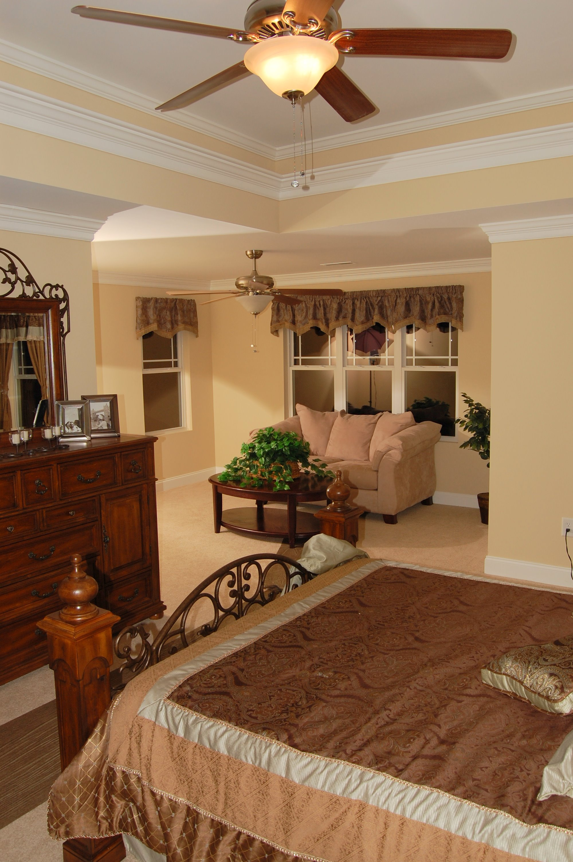 Master suites with sitting rooms