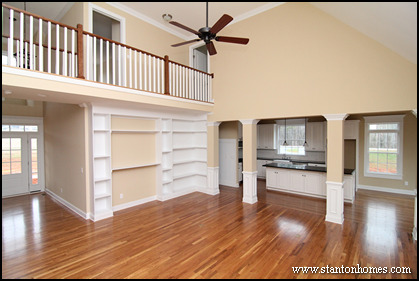 Cary New Homes | Hidden Staircase Floor Plans