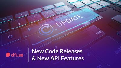 New Code Releases & New API Features --