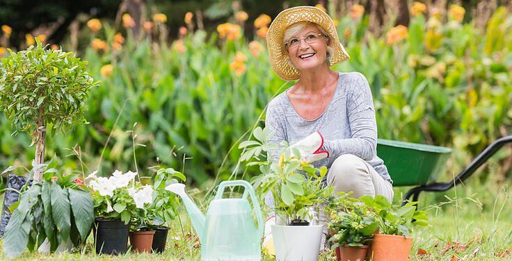 Seniors Stay Active with Container Gardening