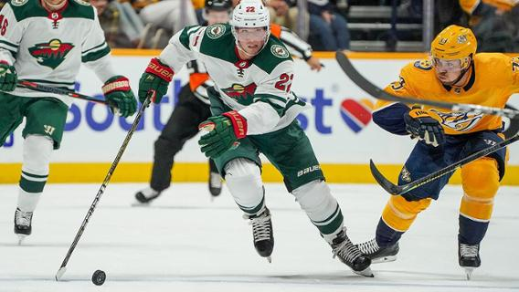 Seniors Out and About in the Twin Cities: Wild at the Xcel