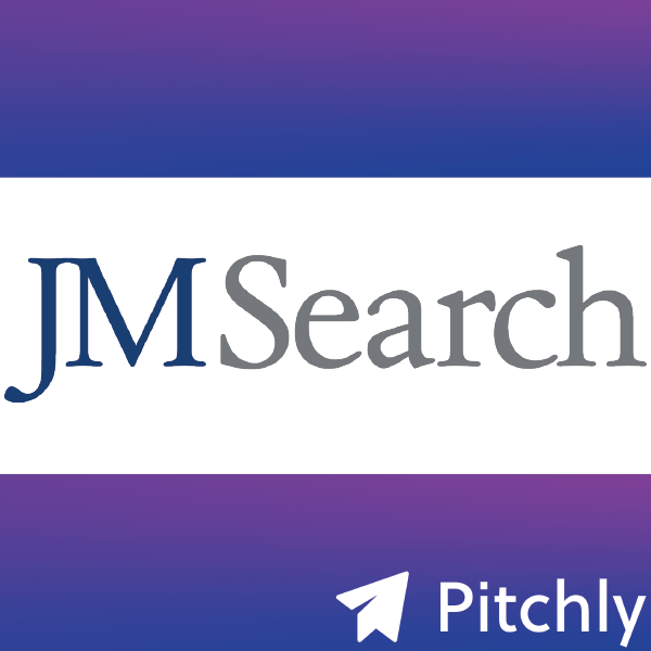 Premier Executive Search Firm, JM Search, Selects Pitchly, As Cloud-based Solution Provider