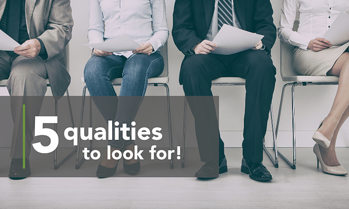 Copy of Header - 5 Qualities to look for!
