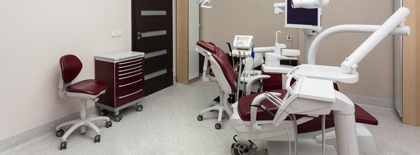 Dental office tenant improvements