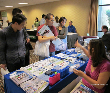 Discuss lab products with quality California leads at an on-campus life science event.