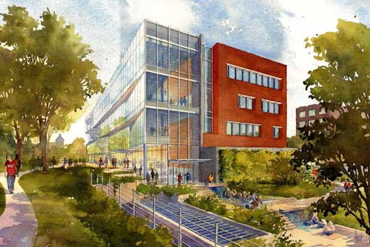 New WSU Bioscience Research Building