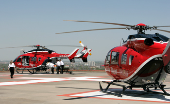 Life Flight Helicopters