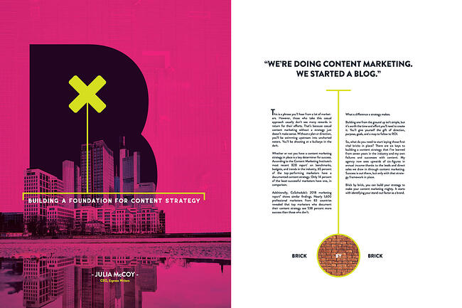 Building a foundation for content strategy