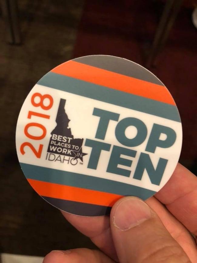 Top Ten Best PLaces to Work