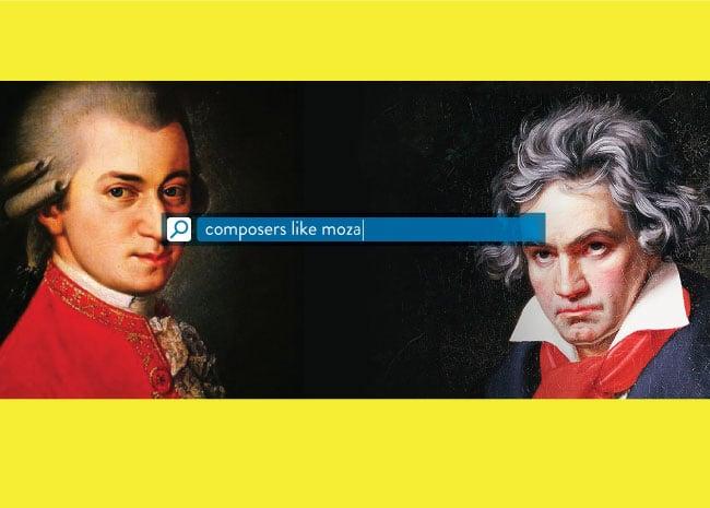 Composers like Mozart