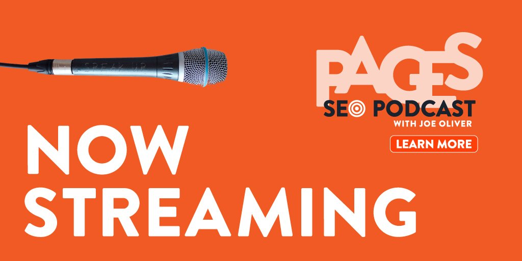 PAGES Podcast with Joe Oliver | Now Streaming