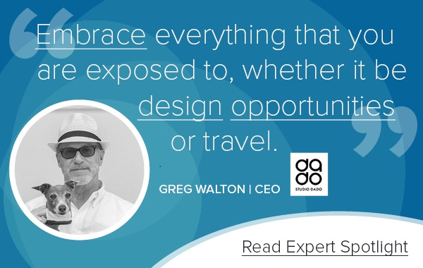 Greg Walton, CEO, Studio DADO
