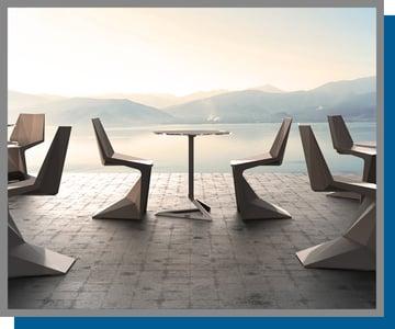 Vondom Chairs by Voxel