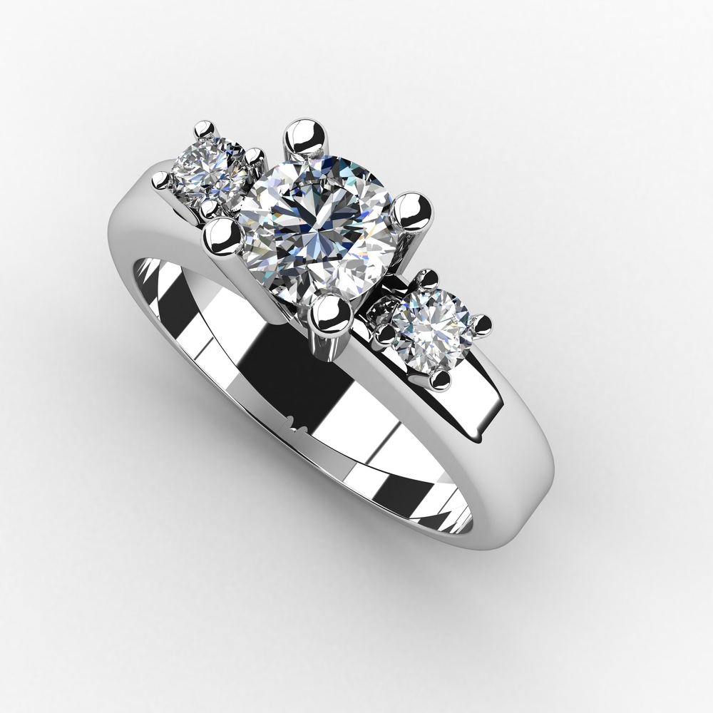 The Significance Of The Three Stone Engagement Ring