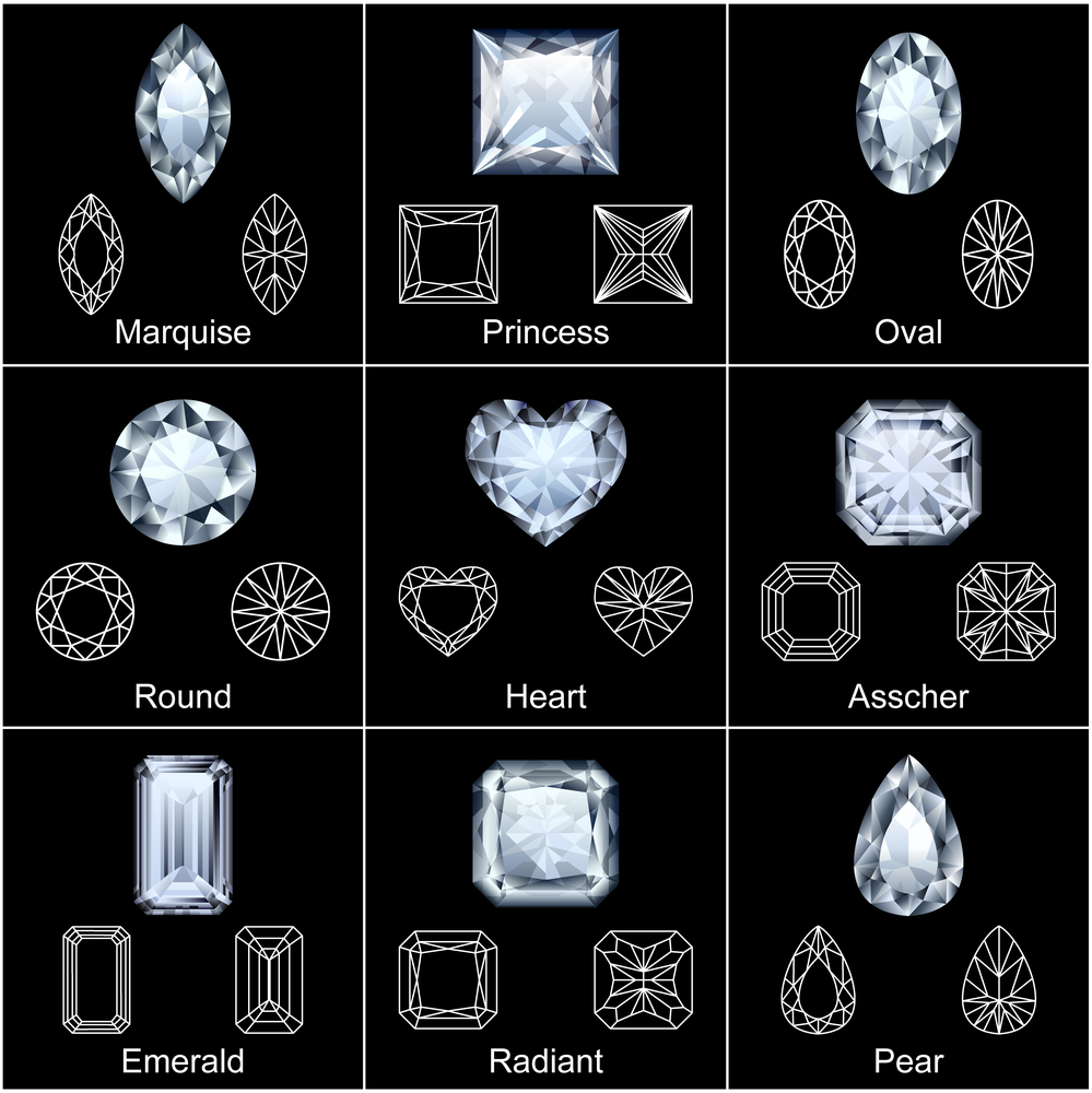 Most Popular Diamond Shapes For Engagement Rings