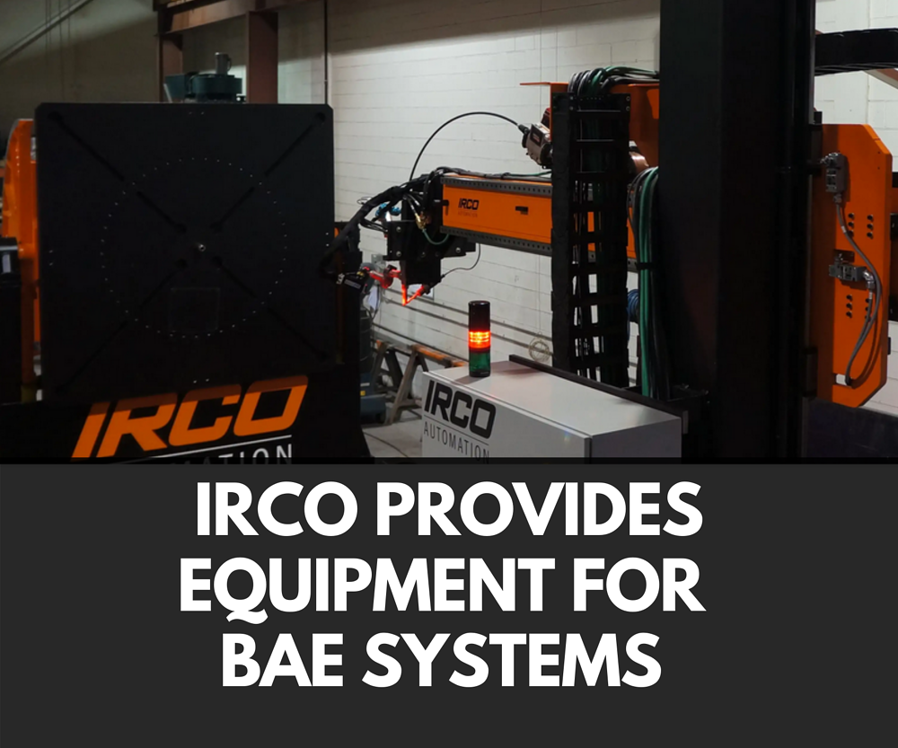 News: IRCO Automation Provides Equipment for BAE Systems
