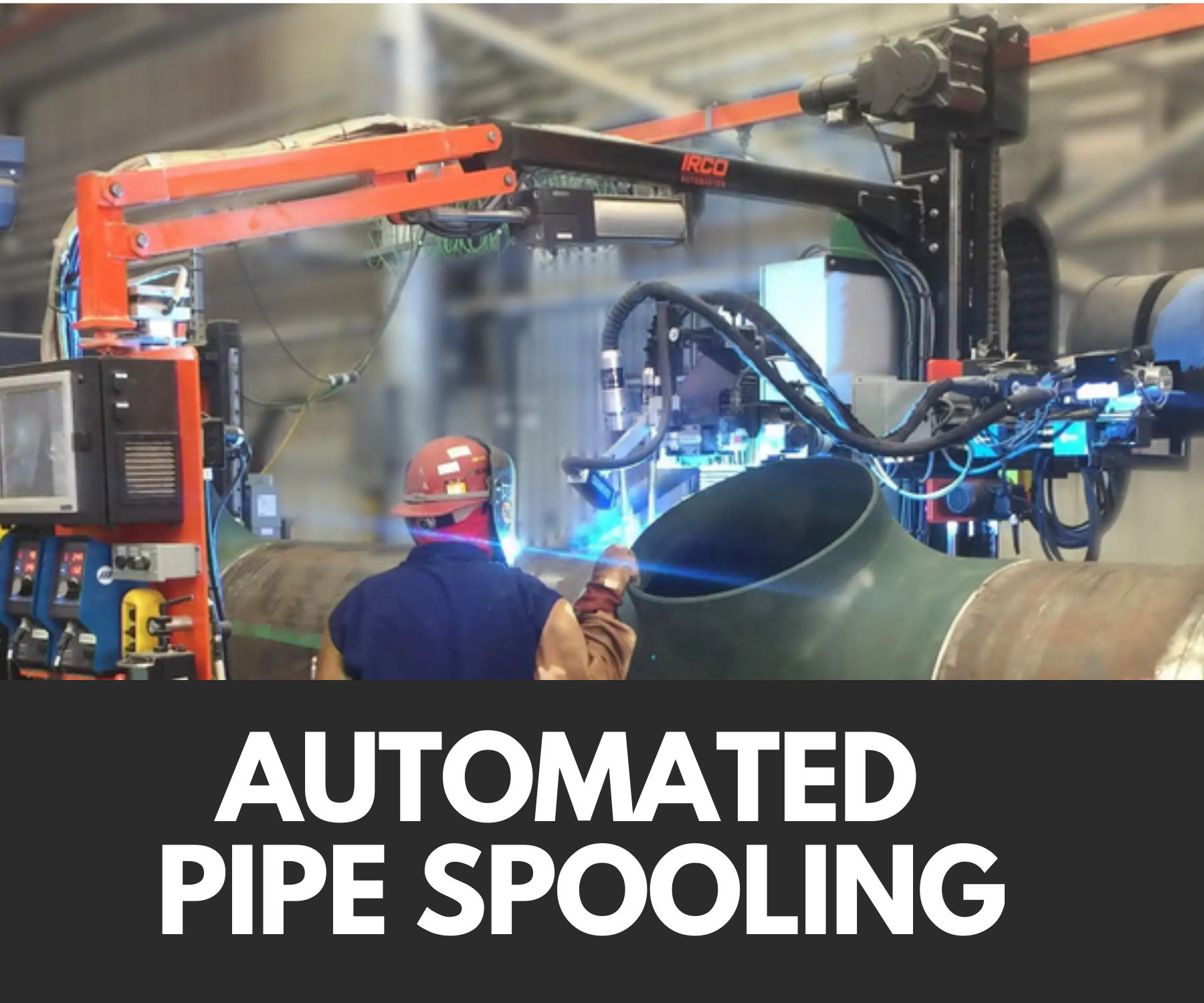 News: Automated Pipe Spooling