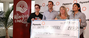 Raising more than $300K for United Way