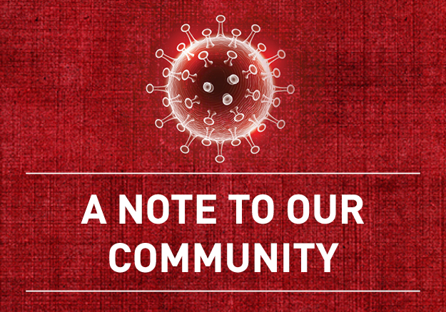 COVID-19 A Note to our Community - April Update