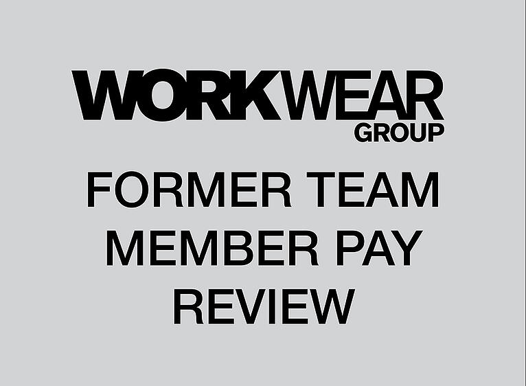 Former Team Member Pay Review