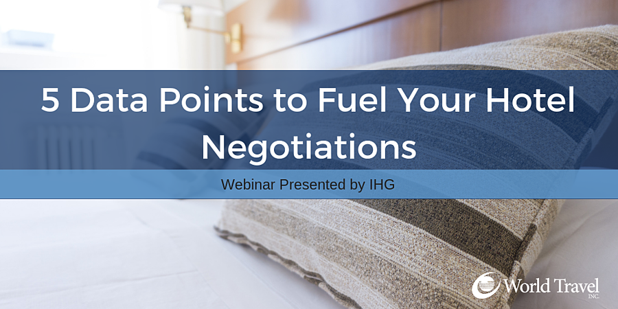 5 Data Points to Fuel Your Hotel Negotiations (Webinar with IHG)